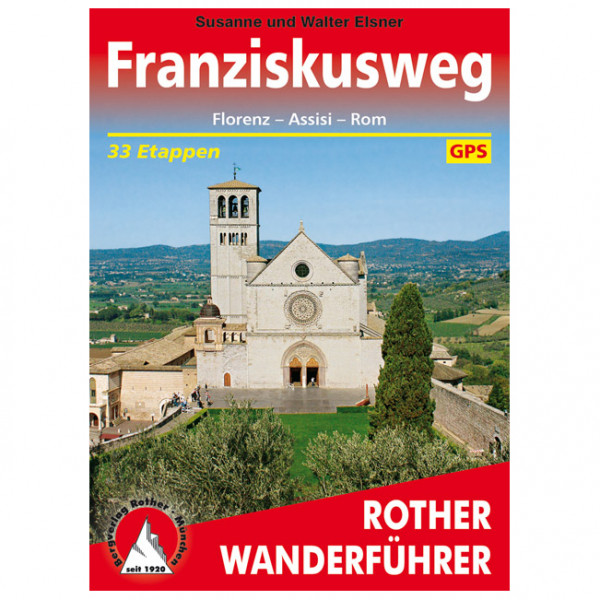 Bergverlag Rother - Franziskusweg - Walking guide book