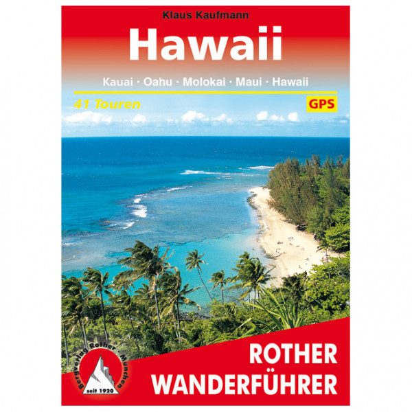 Bergverlag Rother - Hawaii - Vandringsguider