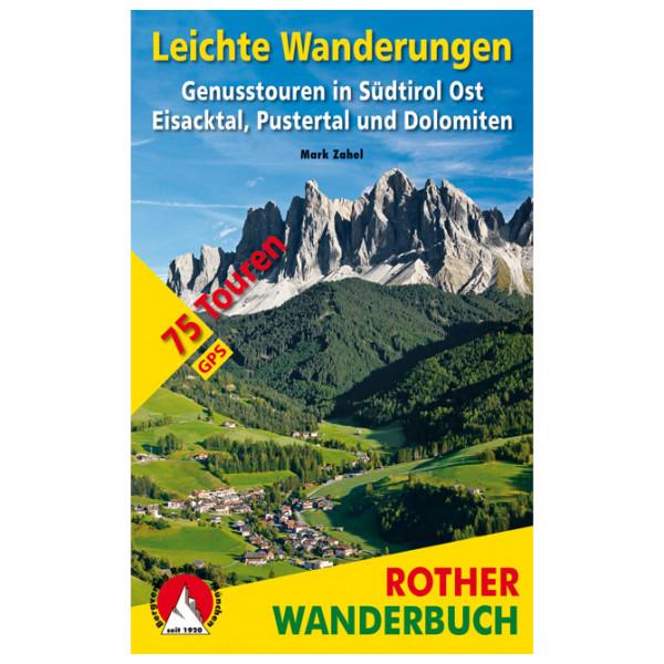 Bergverlag Rother - Leichte Wanderungen Südtirol Ost - Vandringsguider