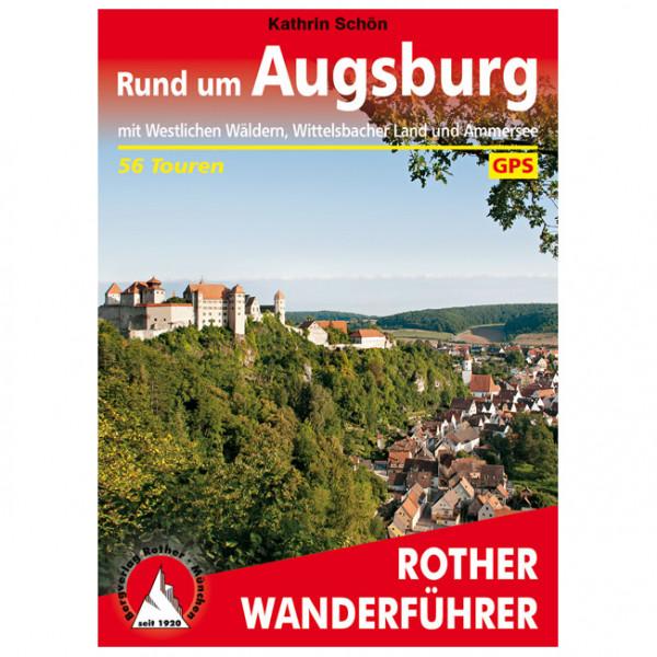 Bergverlag Rother - Rund um Augsburg - Walking guide book