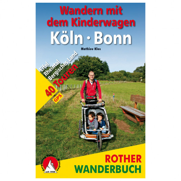 Bergverlag Rother - Wandern mit dem Kinderwagen Köln - Bonn - Walking guide book