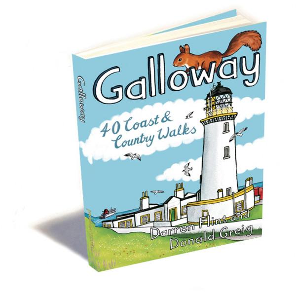 Pocket Mountains Ltd - Galloway: 40 Coast and Country Walks - Vaellusoppaat