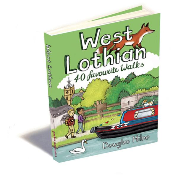 Pocket Mountains Ltd - West Lothian: 40 favourite walks - Walking guide book