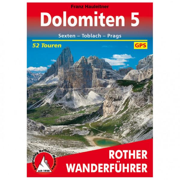 Bergverlag Rother - Dolomiten 5 - Vandreguides