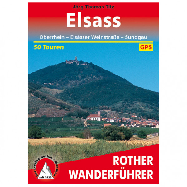 Elsass - Walking guide book