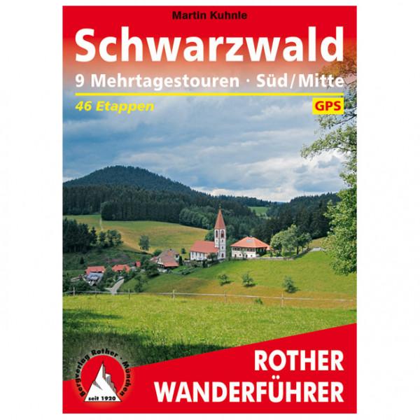 Bergverlag Rother - Schwarzwald - Süd/Mitte - Guías de senderismo
