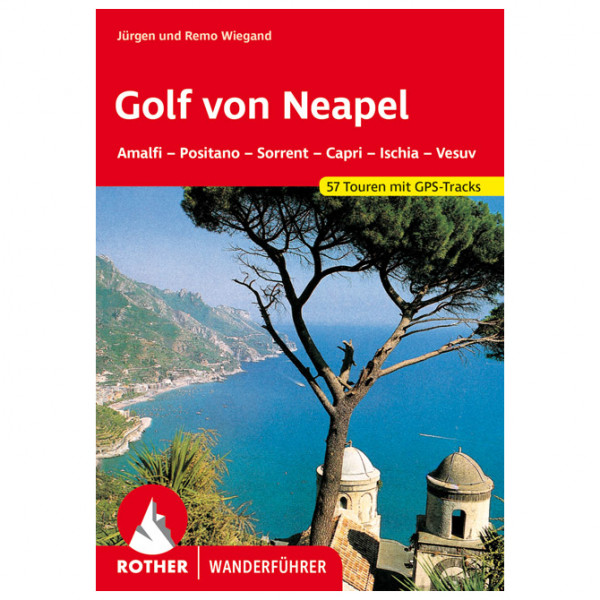 Bergverlag Rother - Golf von Neapel - Walking guide book