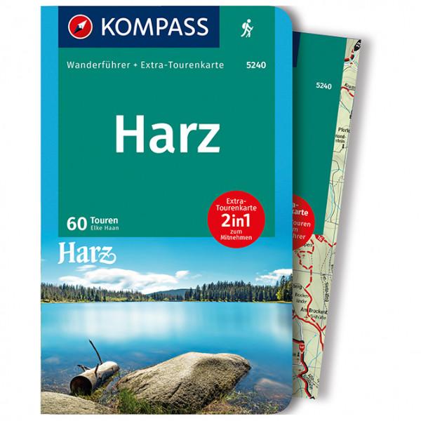 Kompass - Harz - Wandelgidsen