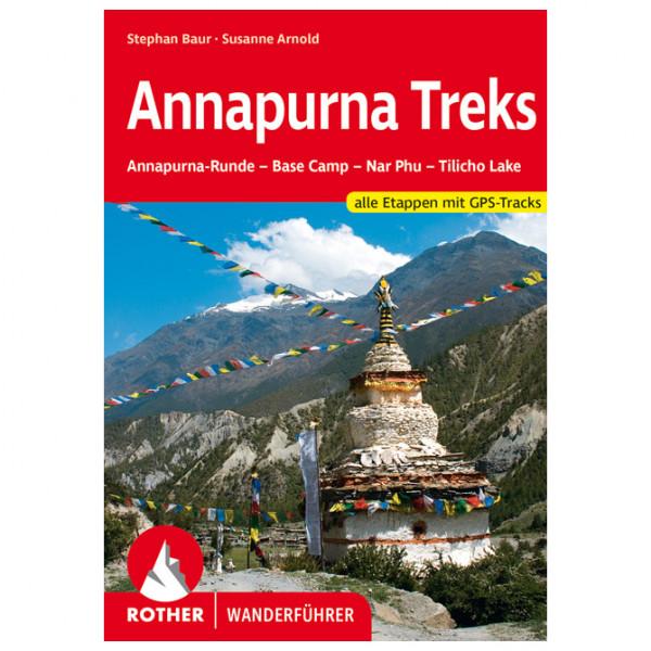 Bergverlag Rother - Annapurna Treks - Wanderführer