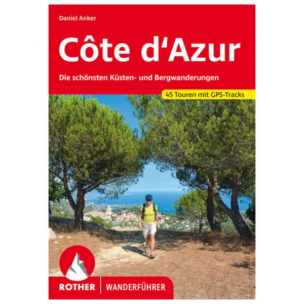 Bergverlag Rother - Côte D'Azur - Vaellusoppaat