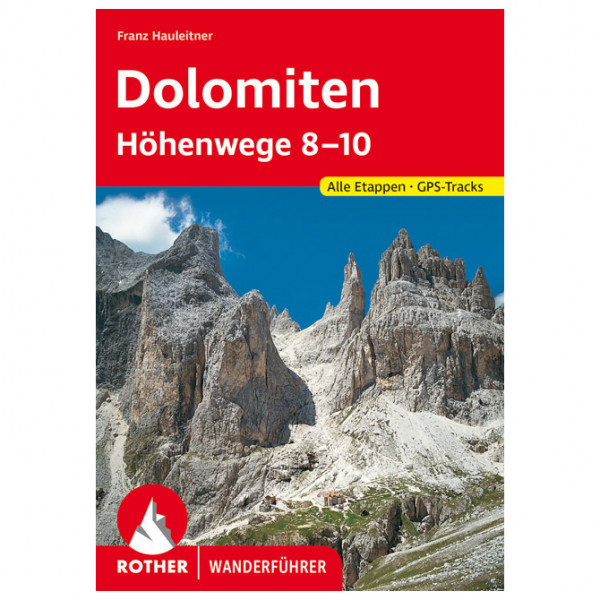 Bergverlag Rother - Dolomiten Höhenwege 8-10 - Guías de senderismo