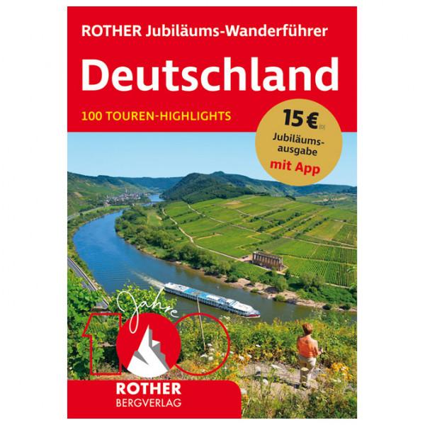 Bergverlag Rother - Jubiläums-Wanderführer Deutschland - Wandelgidsen