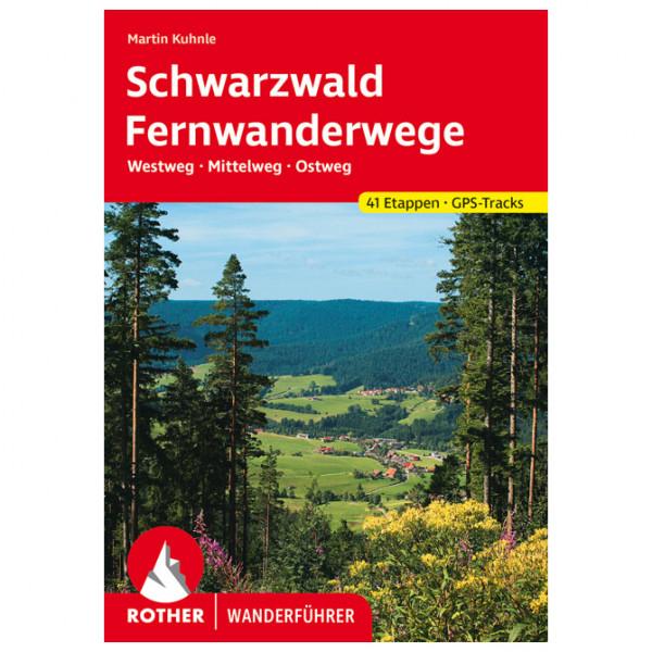 Bergverlag Rother - Schwarzwald Fernwanderwege - Walking guide book