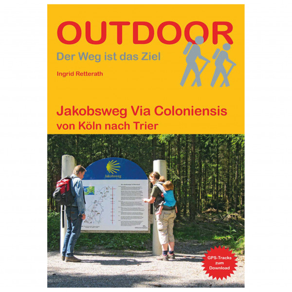 Conrad Stein Verlag - Jakobsweg: Via Coloniensis - Walking guide book