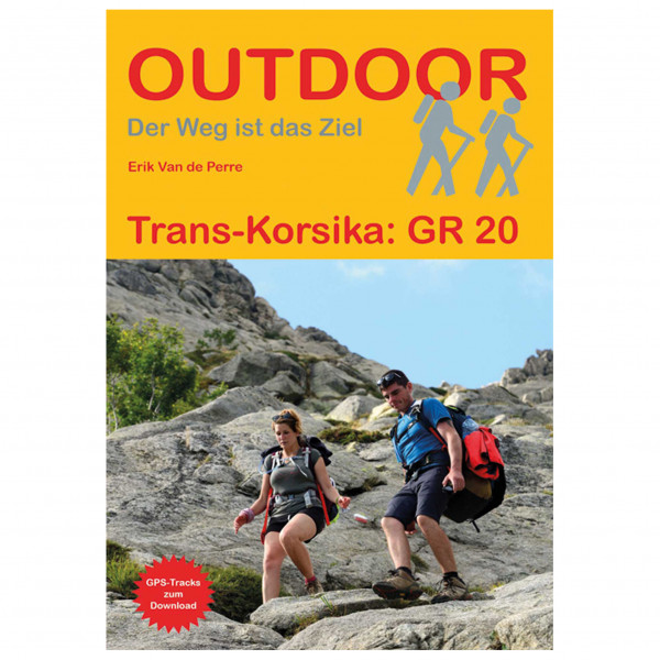 Conrad Stein Verlag - Trans-Korsika: Gr 20 - Guías de senderismo