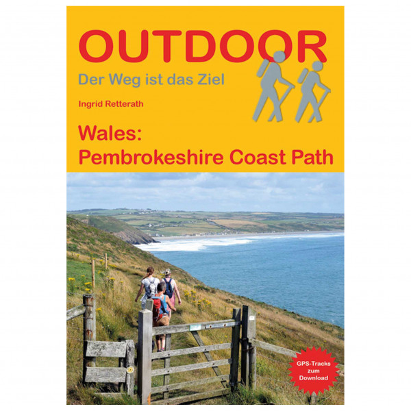 Conrad Stein Verlag - Wales: Pembrokeshire Coast Path - Guide de randonnée