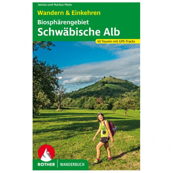 Bergverlag Rother - Biosphärengebiet Schwäbische Alb - Walking guide book
