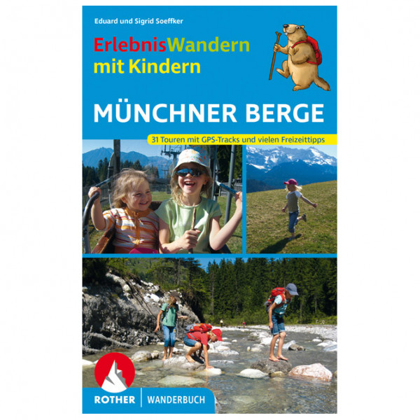 Bergverlag Rother - Münchner Berge - Vaellusoppaat