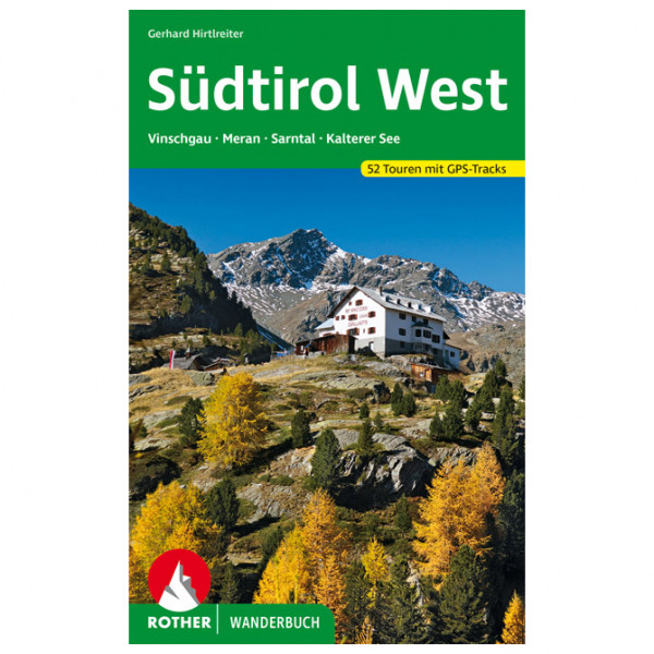 Sdtirol West - Walking guide book