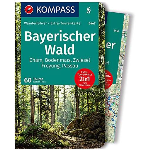 Kompass - Bayerischer Wald - Wanderführer