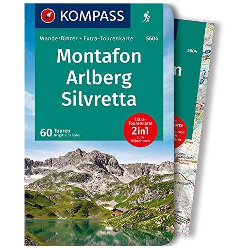 Kompass - Montafon, Arlberg, Silvretta - Walking guide book