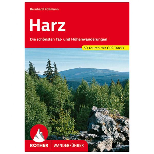 Bergverlag Rother - Harz - Vaellusoppaat