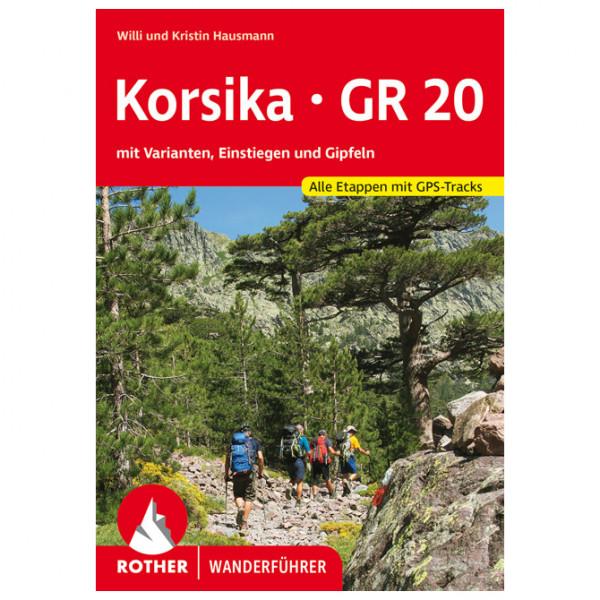 Bergverlag Rother - Korsika GR 20 - Walking guide book