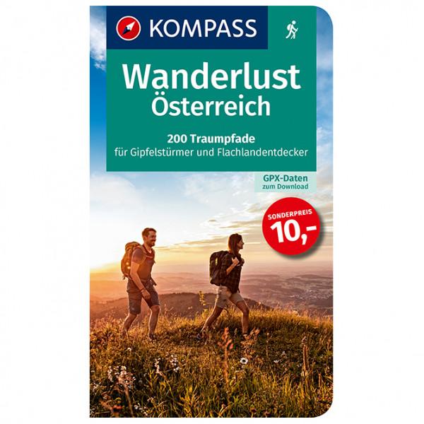 Kompass - 1655 Wanderlust Österreich - Wanderführer