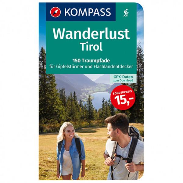 Kompass - 1657 Wanderlust Tirol - Walking guide book