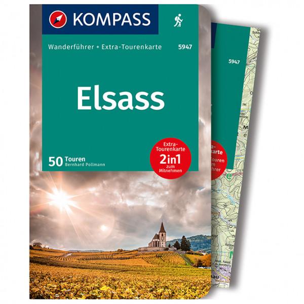 5947 Elsass - Walking guide book
