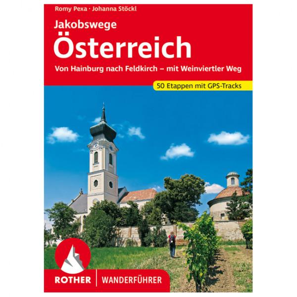 Bergverlag Rother - Jakobswege Österreich - Wanderführer