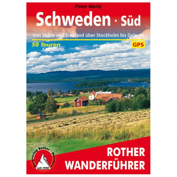 Bergverlag Rother - Schweden Süd - Walking guide book