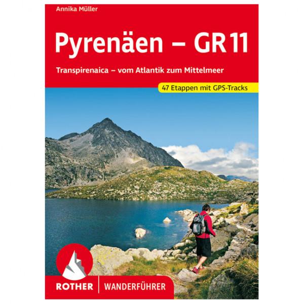 Bergverlag Rother - Pyrenäen - GR 11 - Guide de randonnée