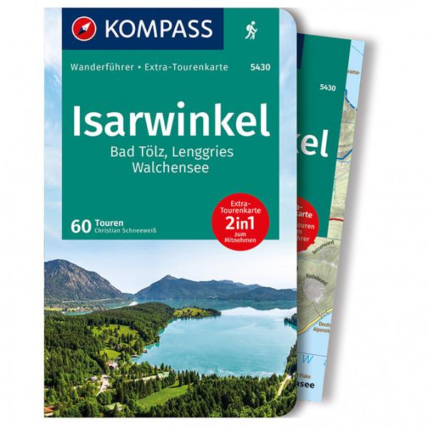 Kompass - Isarwinkel, Badölz, Lenggries, Walchensee - Wanderführer