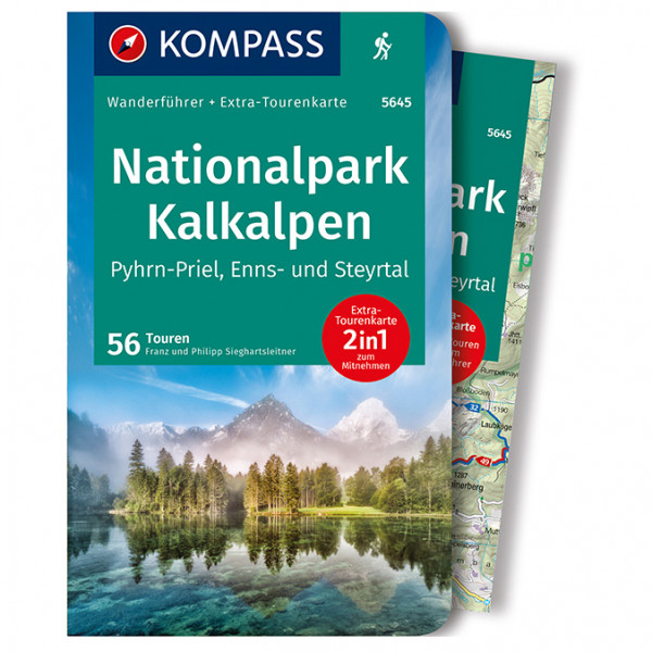 Nationalpark Kalkalpen - Walking guide book