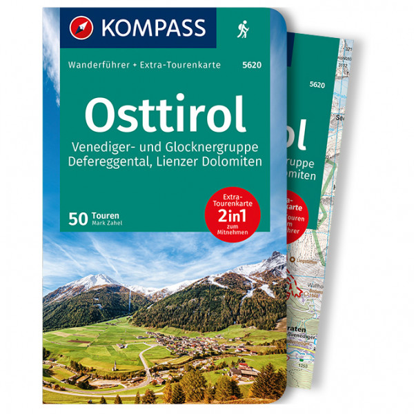 Kompass - Osttirol (+Karte) - Wanderführer