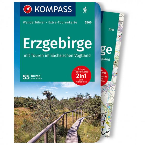 Kompass - Erzgebirge - Wanderführer