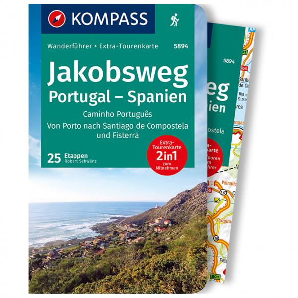 Kompass - Jakobsweg Portugal Spanien - Wanderführer