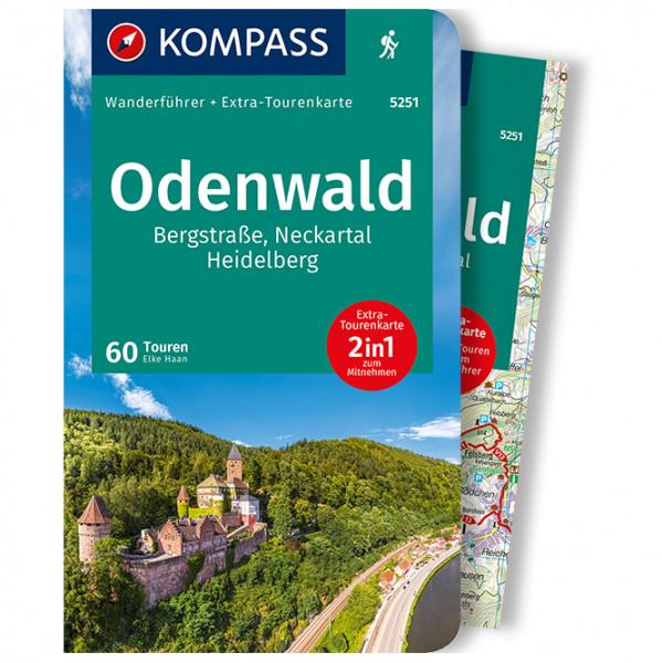 Odenwald - Walking guide book