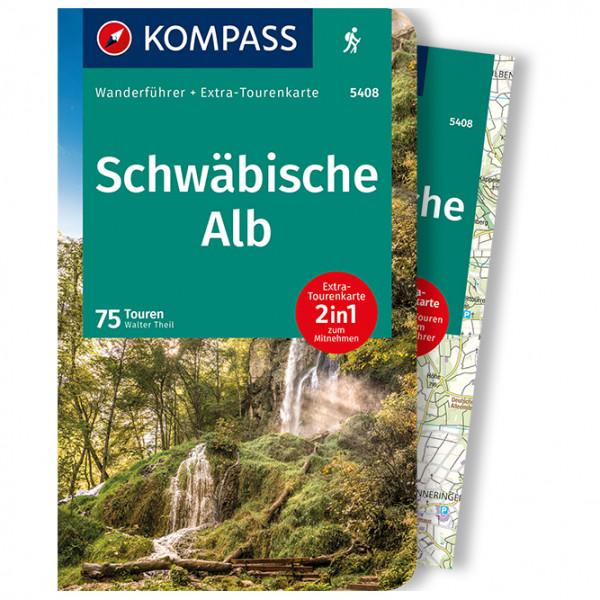 Schw ¤bische Alb - Walking guide book
