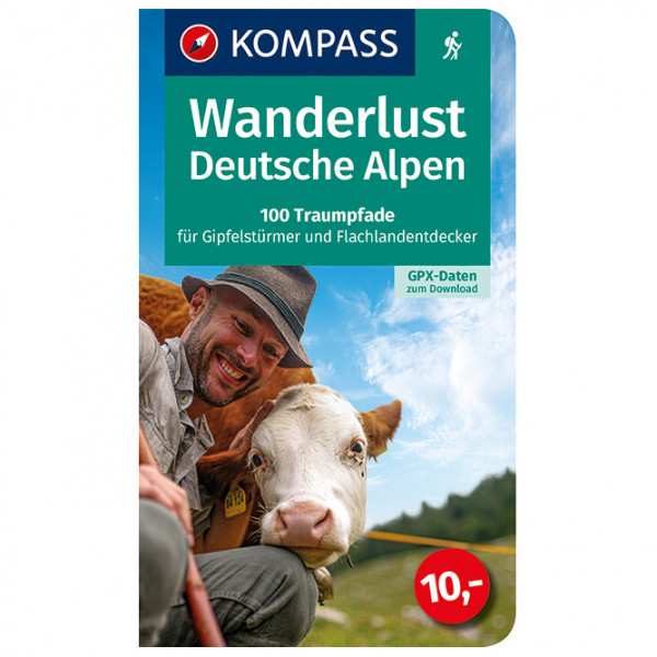 Kompass - Wanderlust Deutsche Alpen - Wanderführer