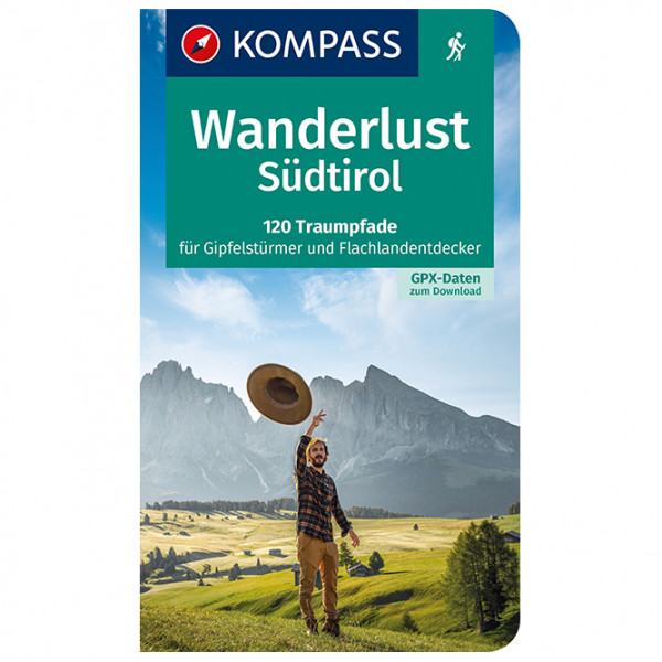 Kompass - Wanderlust Südtirol - Wanderführer