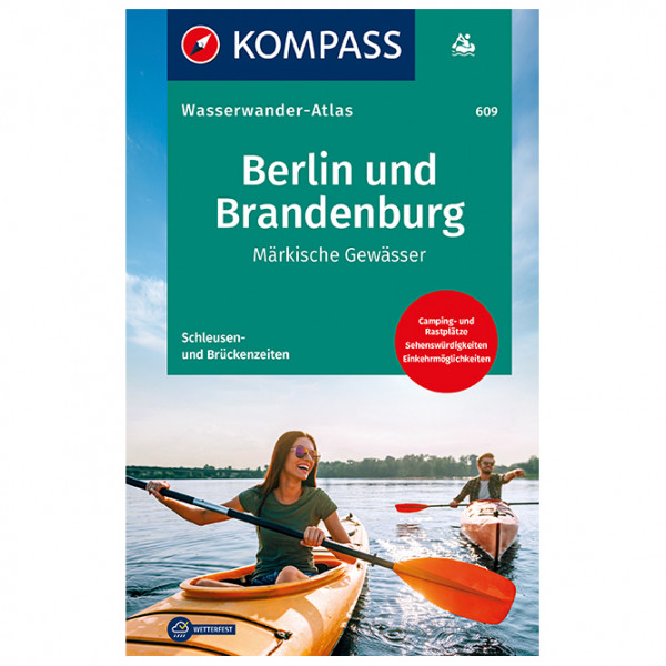 Kompass - Wasserwanderatlas Berlin und Brandenburg - Wanderführer