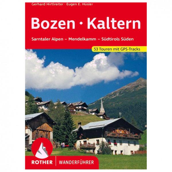 Bergverlag Rother - Bozen - Kaltern - Wanderführer