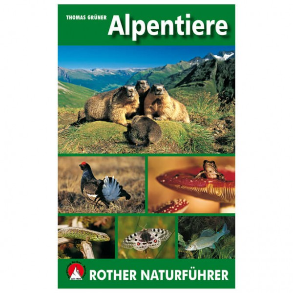 Bergverlag Rother - Alpentiere - Nature guide
