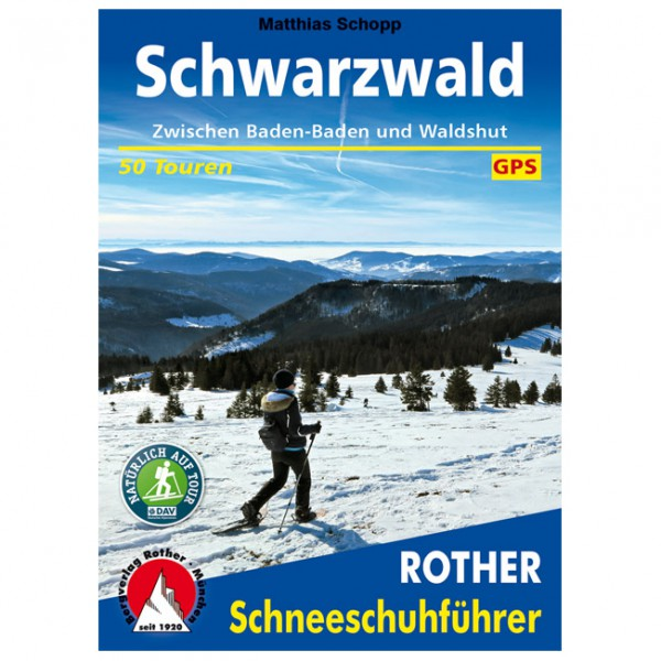 Bergverlag Rother - Schwarzwald - Vaellusoppaat