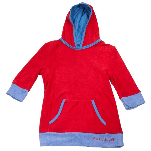 Ducksday - Kid's Beachponcho - Trui met capuchon