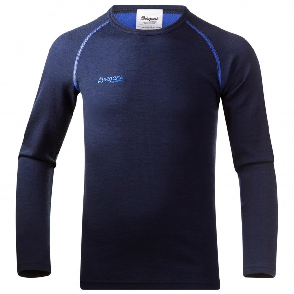 Bergans - Akeleie Youth Shirt - Merino ondergoed