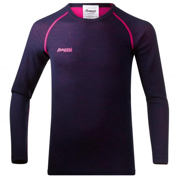 Bergans - Akeleie Youth Shirt - Underkläder merinoull