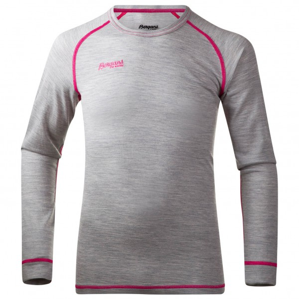 Bergans - Mispel Youth Shirt - Merinounterwäsche